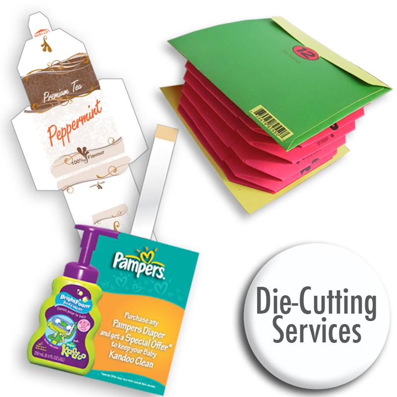 Digital die cutting services